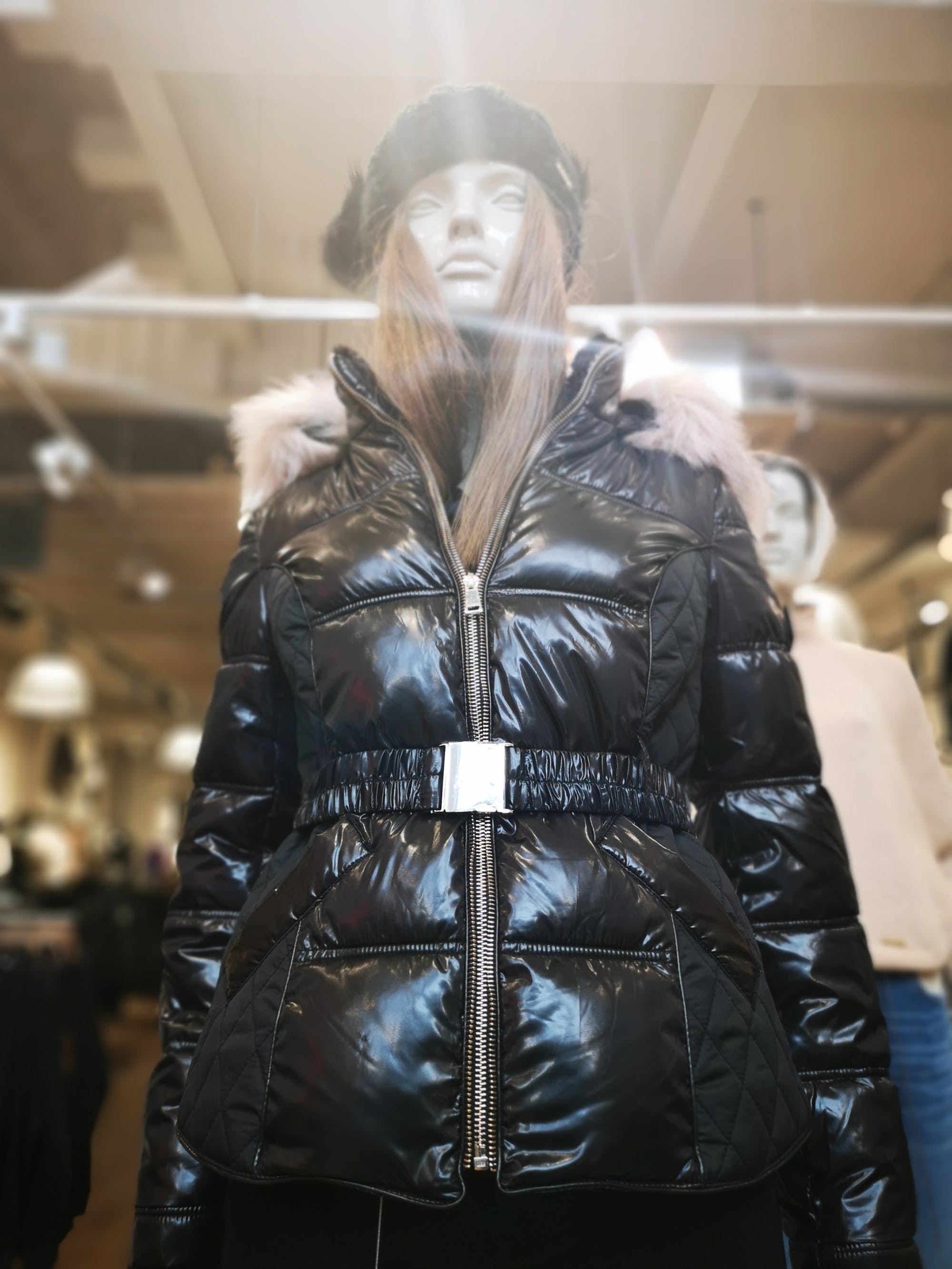 Set sail for River Island and what will be a best selling coat. Padded, warm, shiny, logo belt, fur-lined hood. Your new favourite. £75