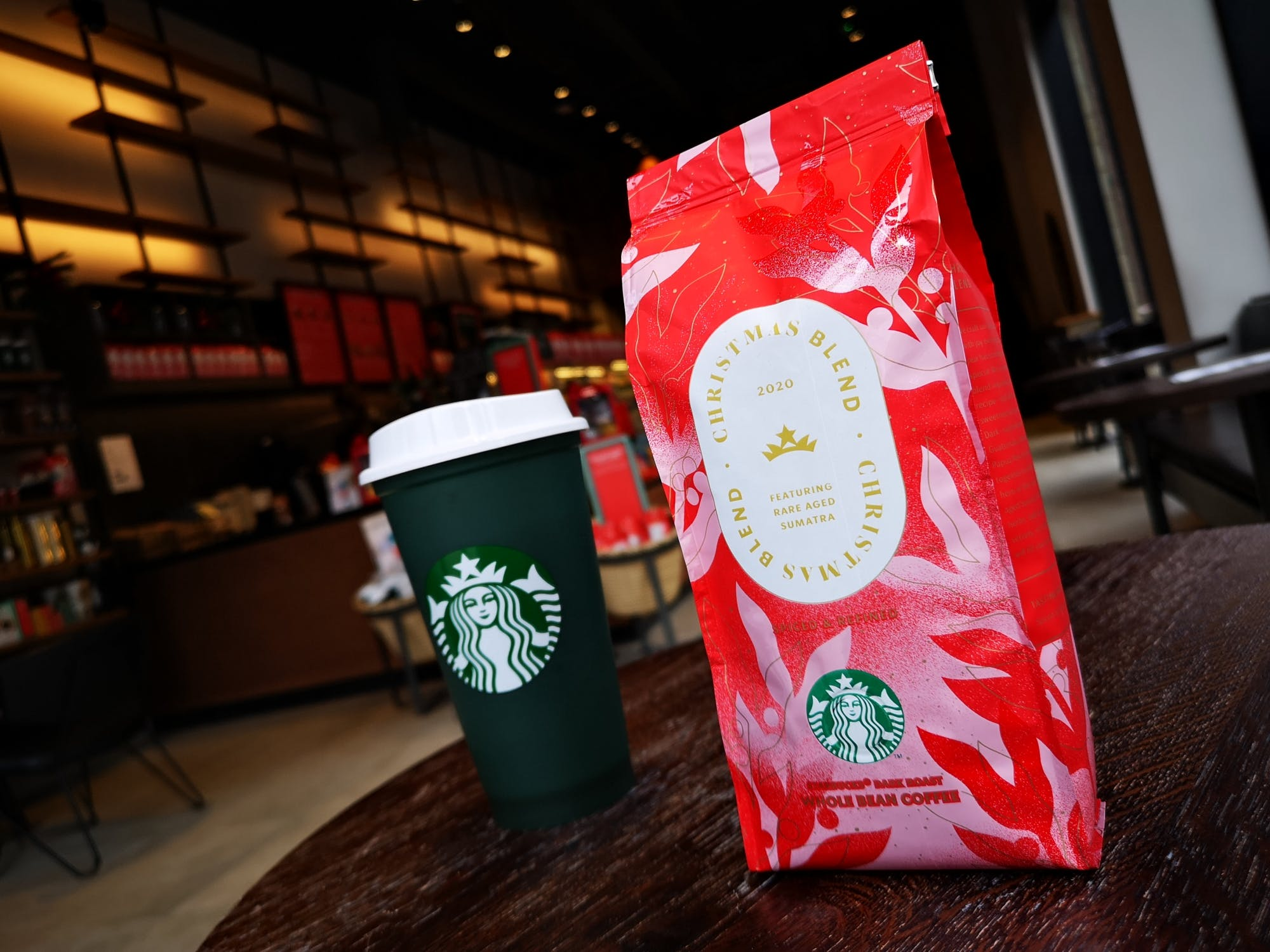 One for you, one for them - grab a bag of Christmas blend coffee on a Friday and a free brew for yourself this December!