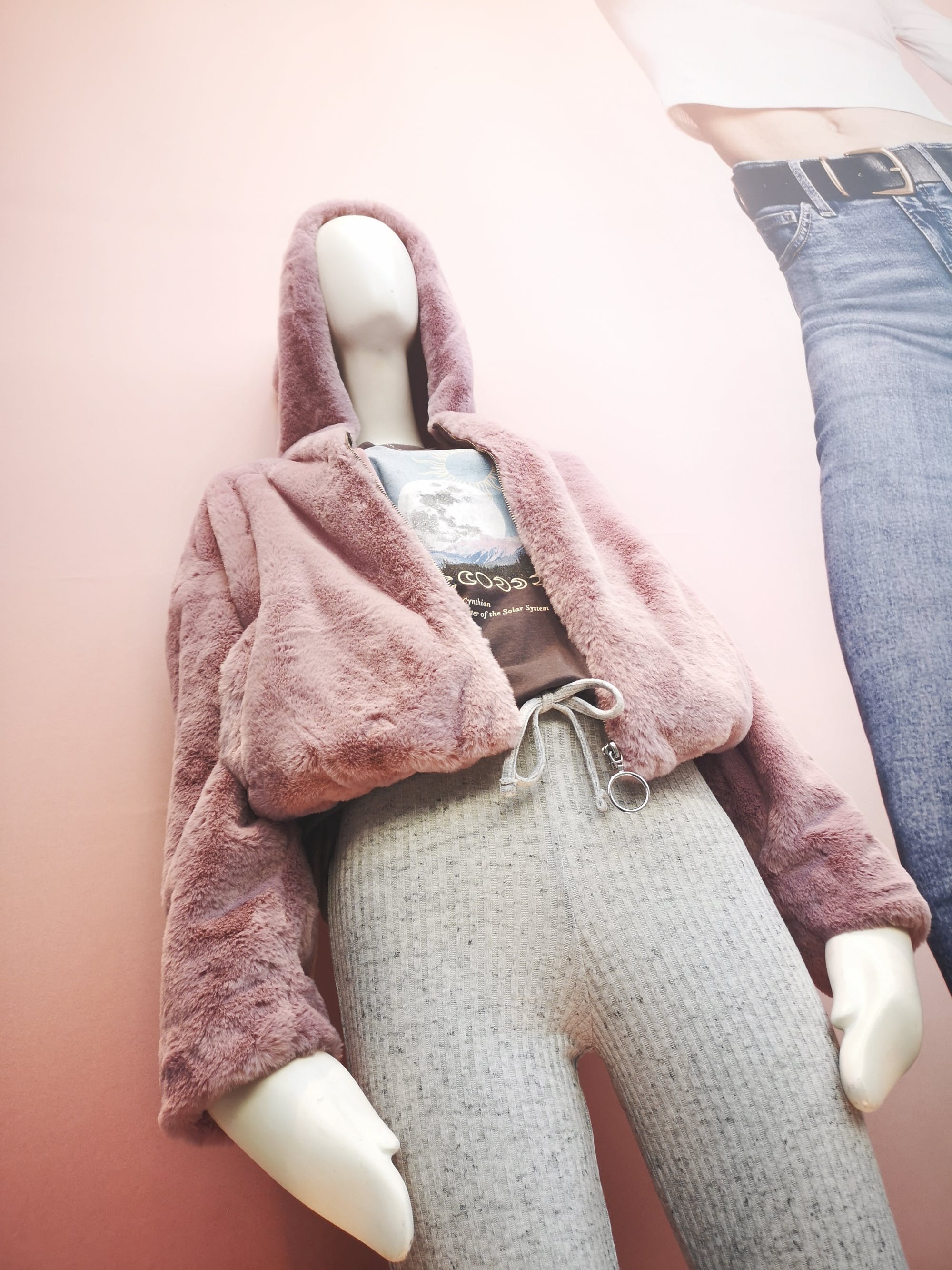 We think these will be a best seller - fluffy hoodies in pink, white and black at Topshop. Warm, cute, goooorgeous. £36