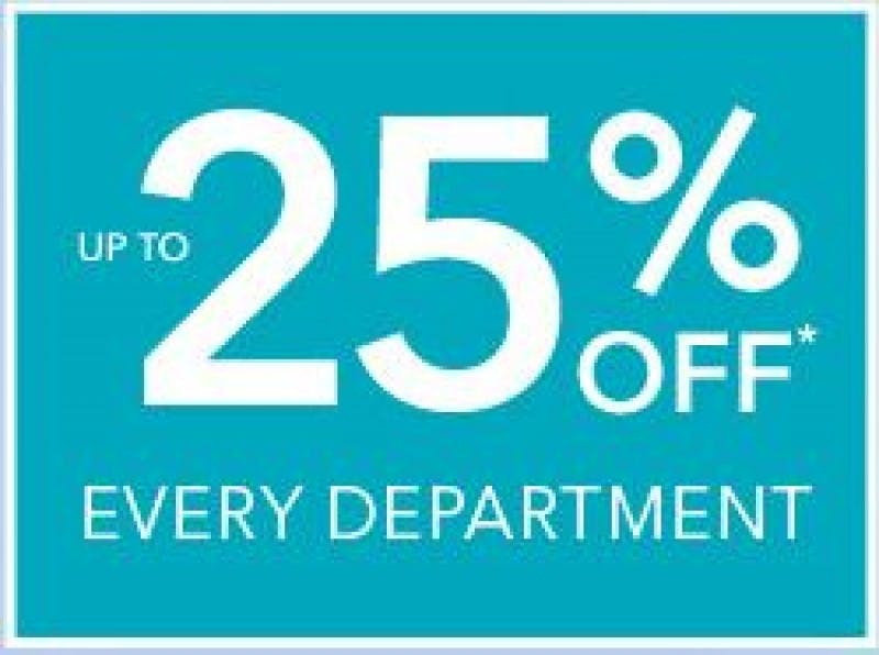 25% off Summer Spectacular at Debenhams
