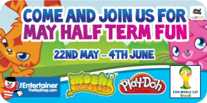 Moshi May Half Term with The Entertainer!