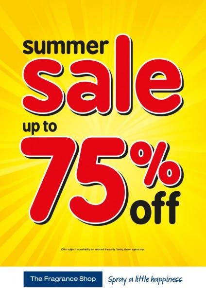 The Fragrance Shop Summer Sale
