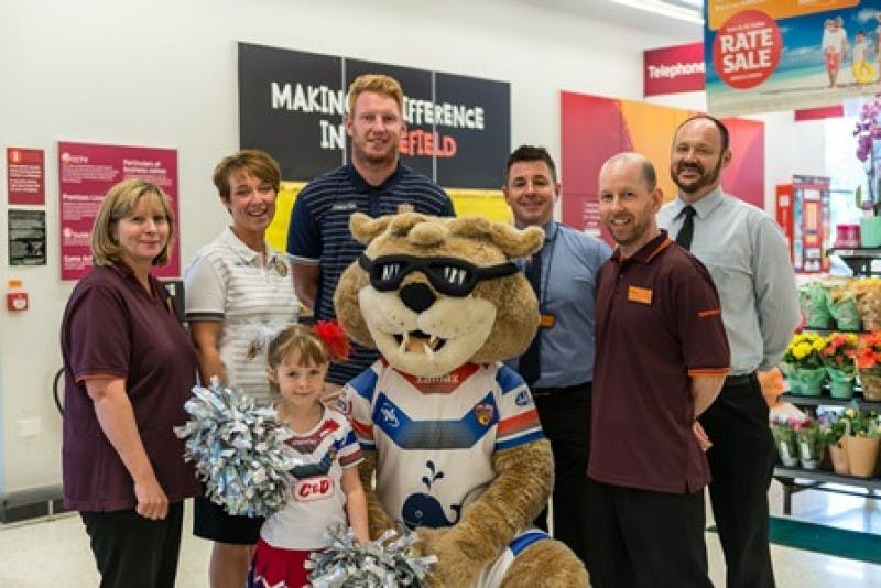 Wakefield Community Trust to receive a year's worth of support from Sainsbury's Trinity walk