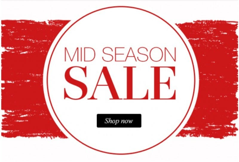 Clarks Mid Season Sale