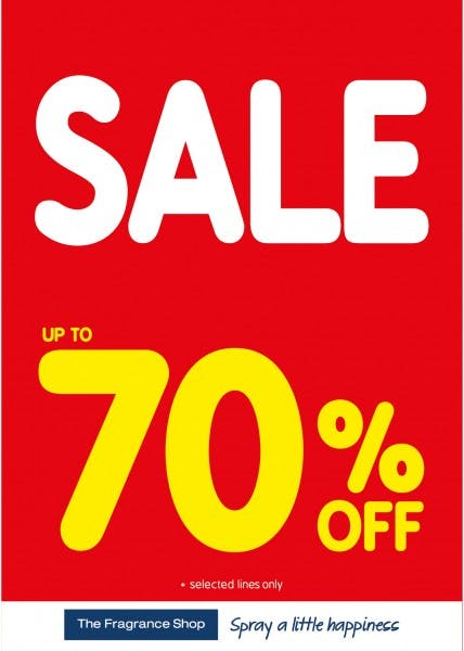 January Sale at The Fragrance Shop