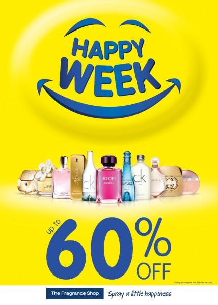 Happy Week at The Fragrance Shop
