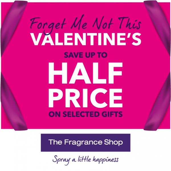 Forget Me Not This Valentine's at The Fragrance Shop
