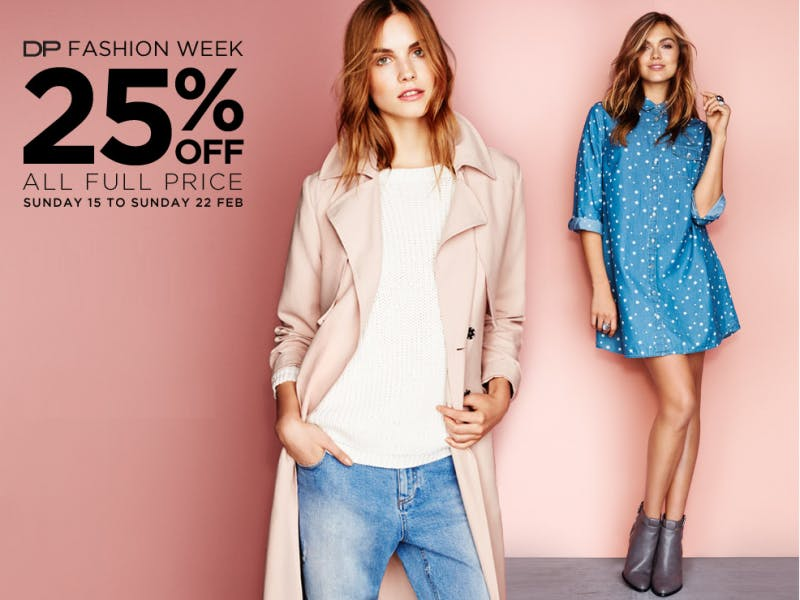 25% off at Dorothy Perkins