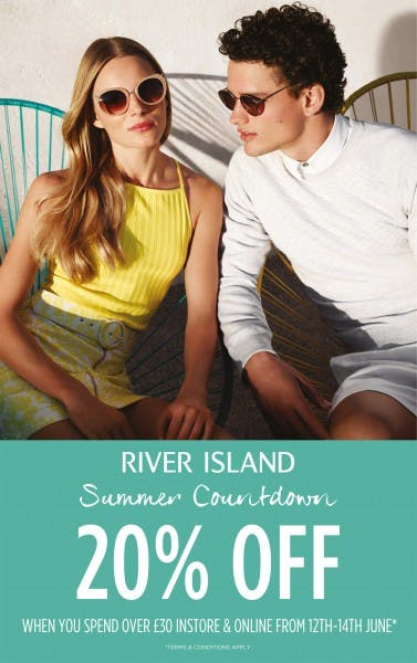 River Island summer countdown starts today!
