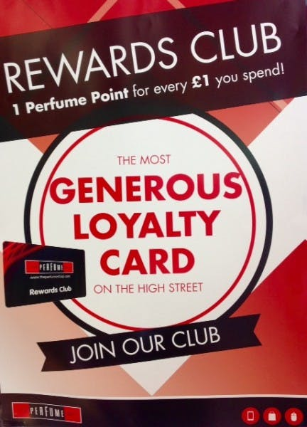 The Perfume Shop launches Reward Club Card
