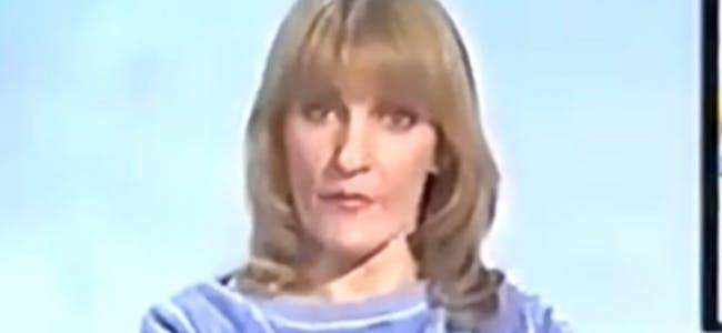 Lynn Faulds-Wood presents Checkout on TV-am