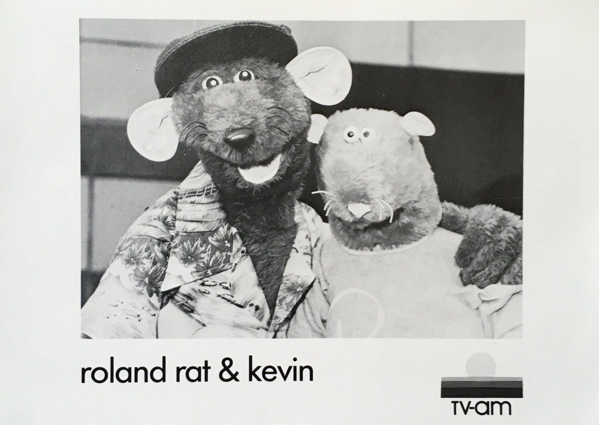 Roland Rat & Kevin the Gerbil