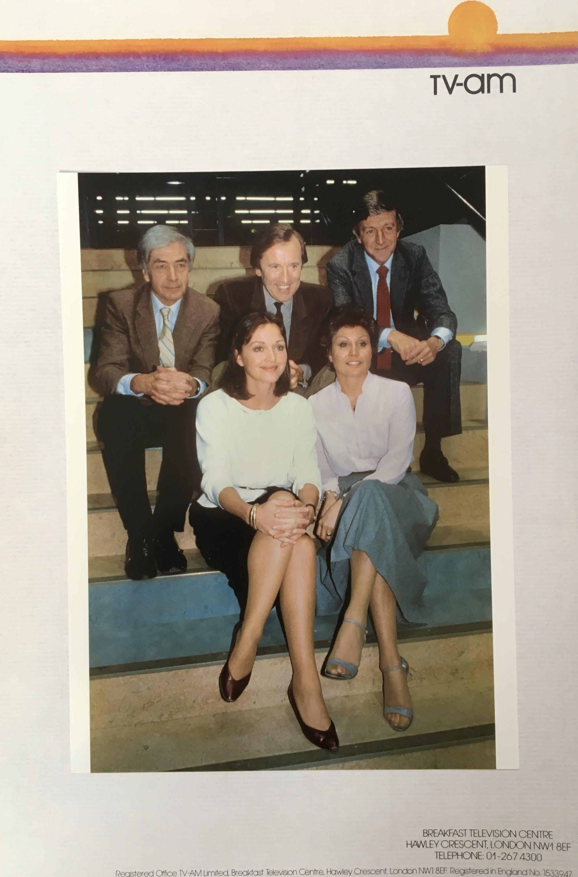 Press Release TV-am Launch 1983