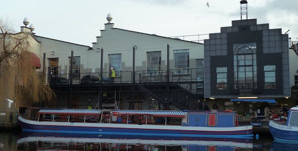 TV-am studios, Camden Lock