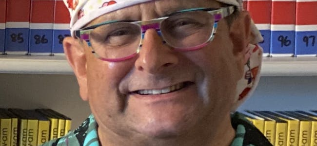 Timmy Mallett at TV-am