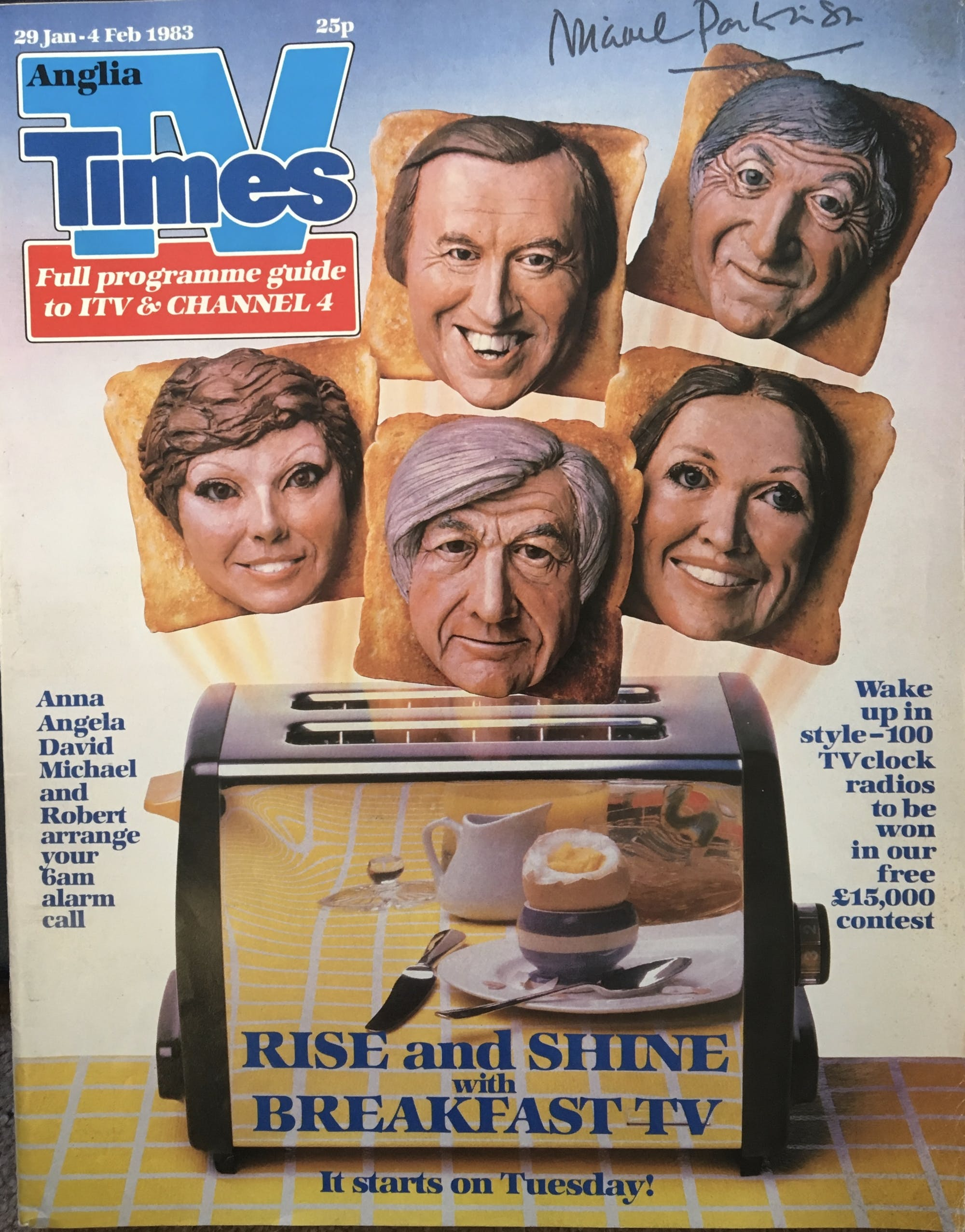 TV Times TV-am launch issue