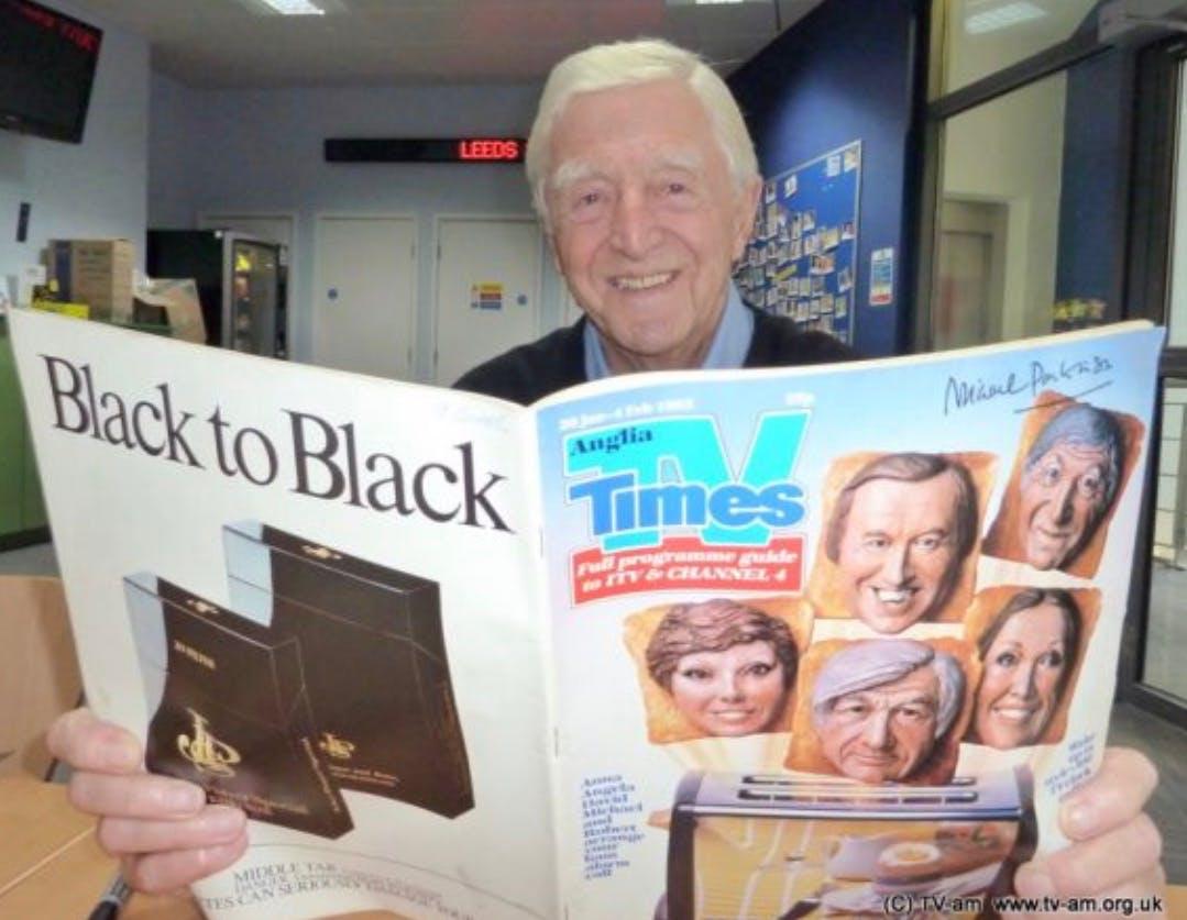 Sir Michael Parkinson TV Times