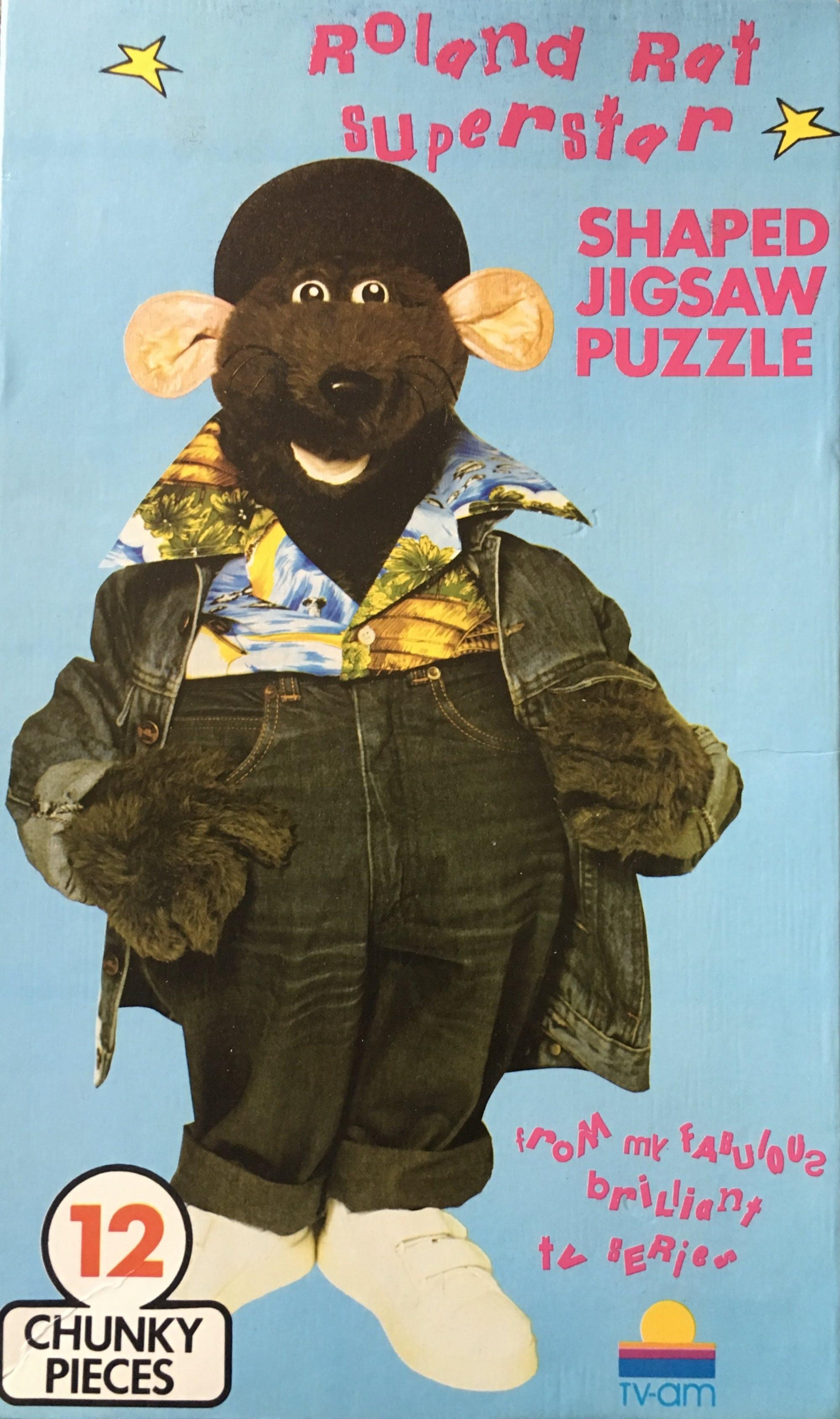 Roland Rat jigsaw