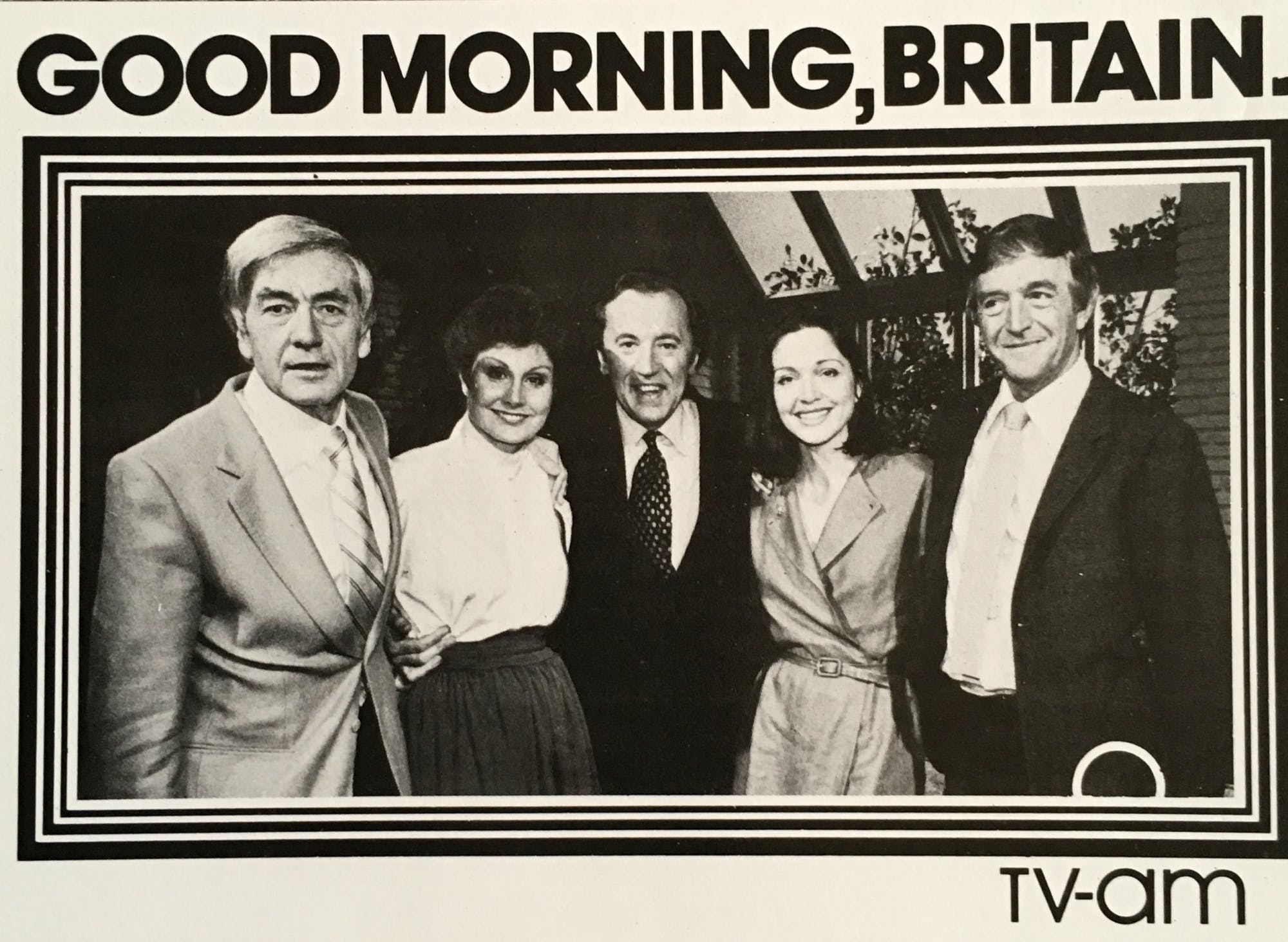 Famous Five presenters launch TV-am in 1983