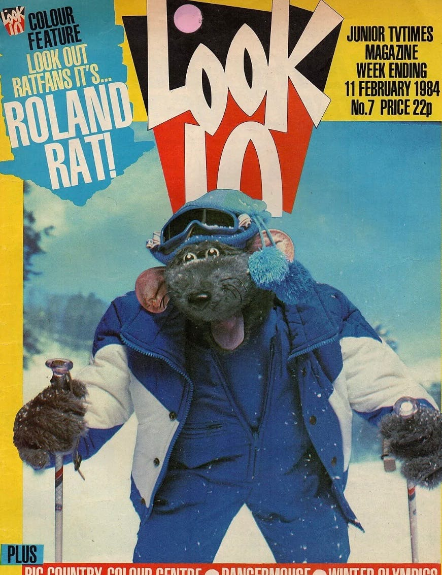 Roland Rat, Look In