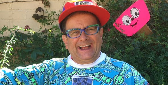 Wacaday presenter Timmy Mallett