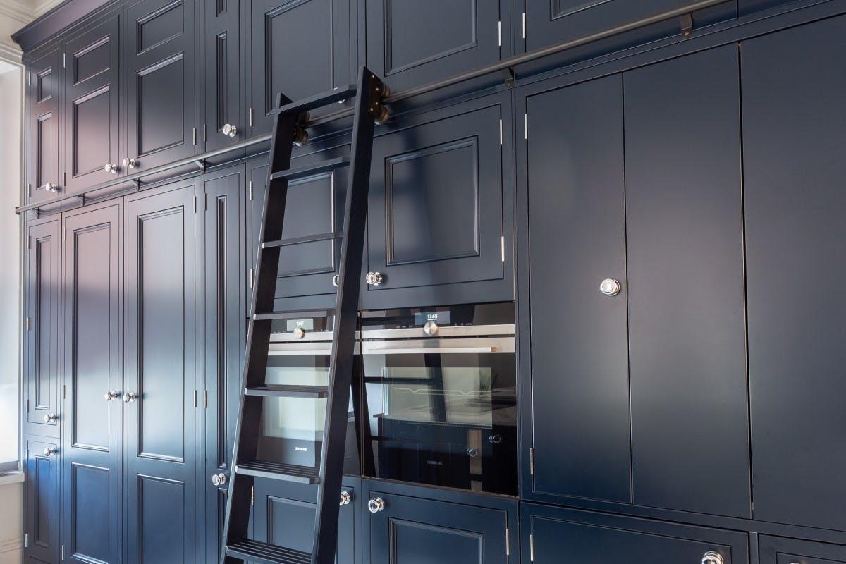 kitchen ladder detail