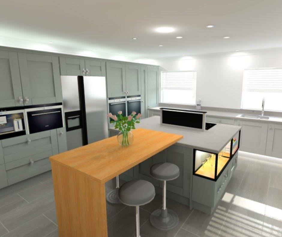 kitchen design covid-secure