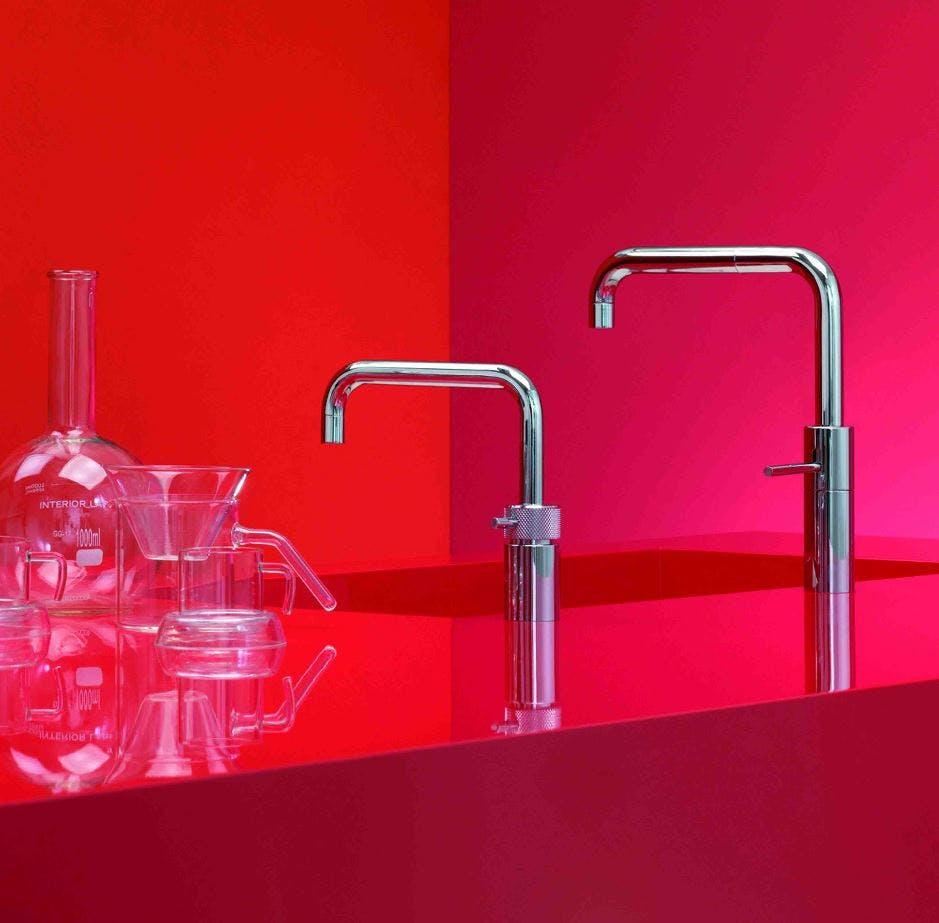 Quooker nordic twin tap by Twenty 5 Design Wakefield Yorkshire