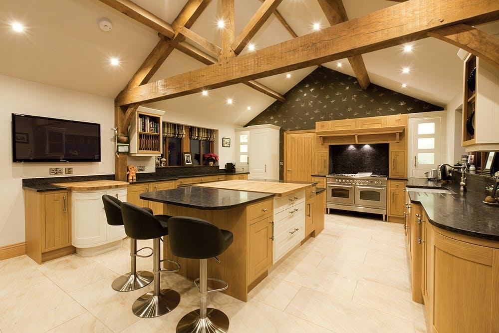 Modern Barn Kitchen by Twenty 5 Design
