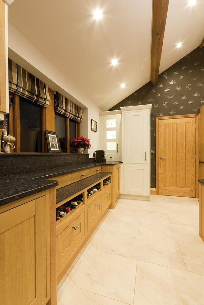 Kitchen Portfolio Modern Barn Kitchen In Huddersfield