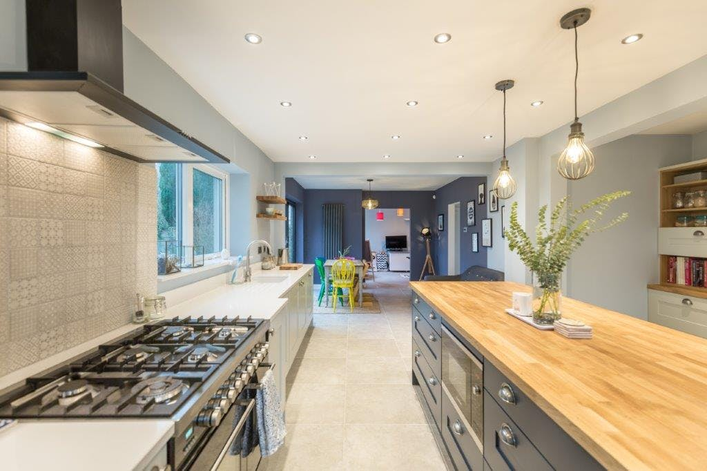 Second Nature Kitchen Patridge Grey and Charcoal