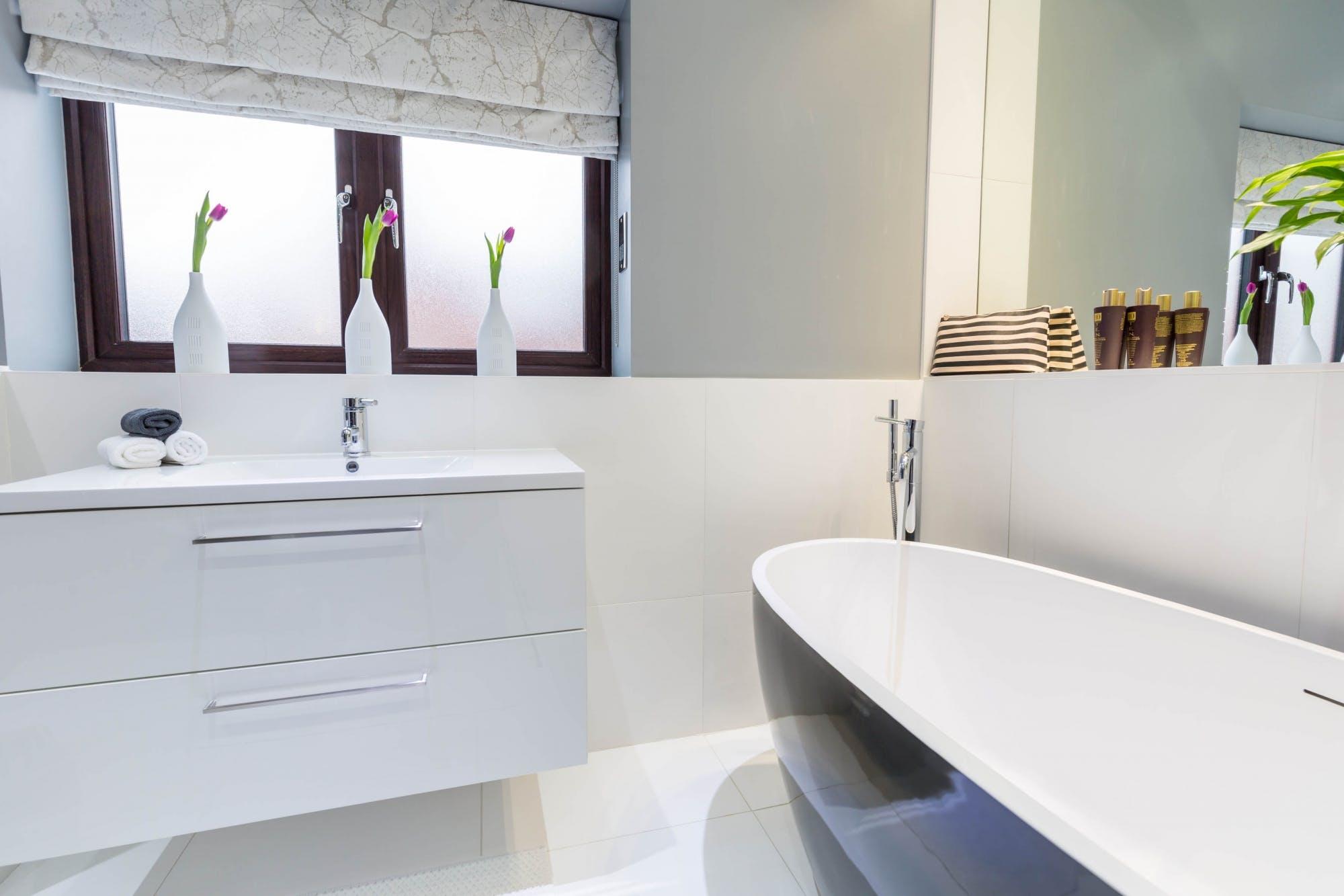 Contemporary Bathroom in Wakefield 2