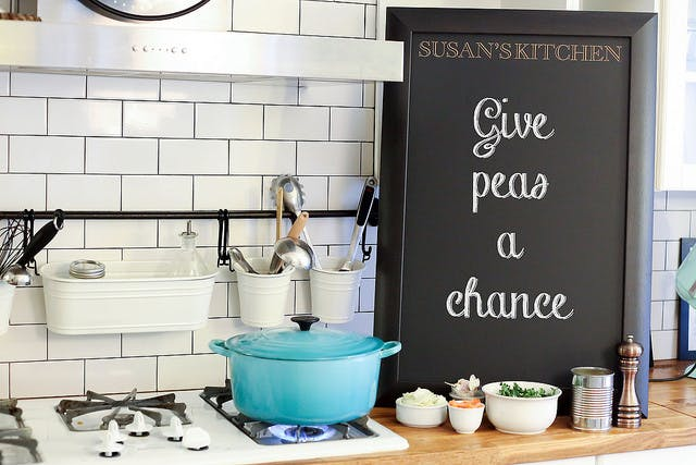 Twenty 5 Design Spring Decor Tips: Blackboards