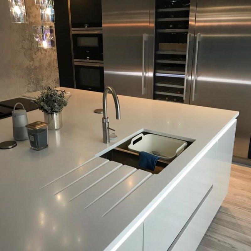 Corian Sink Details