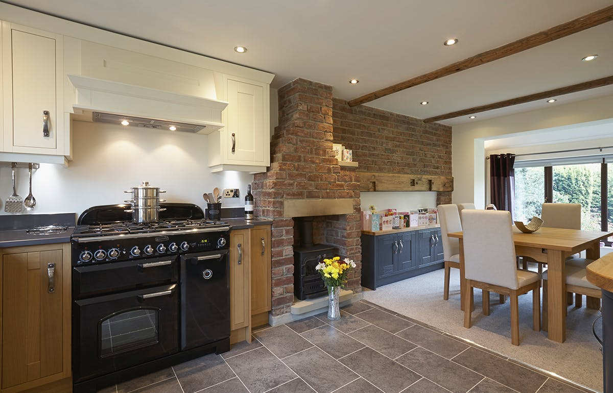 Traditional Kitchen in Bradford by Twenty 5 Design