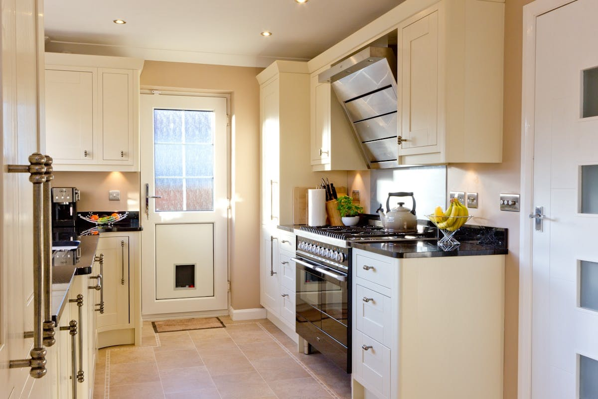 Traditional Kitchen in Leeds at Alwoodley by Twenty 5 Design