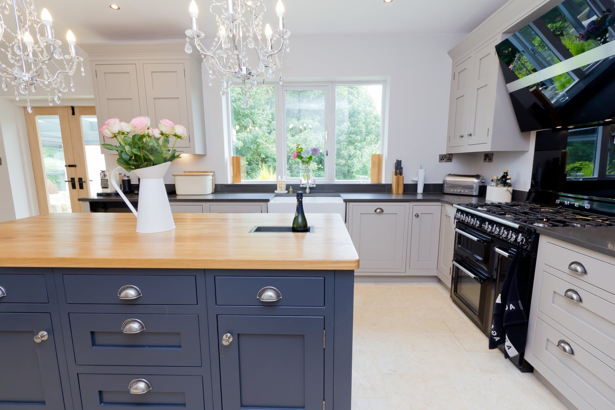 Traditional Kitchen in Huddersfield - Longwood