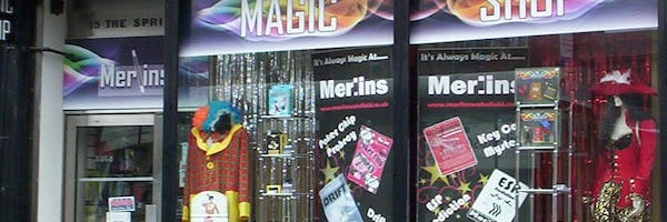 Merlins Magic shop