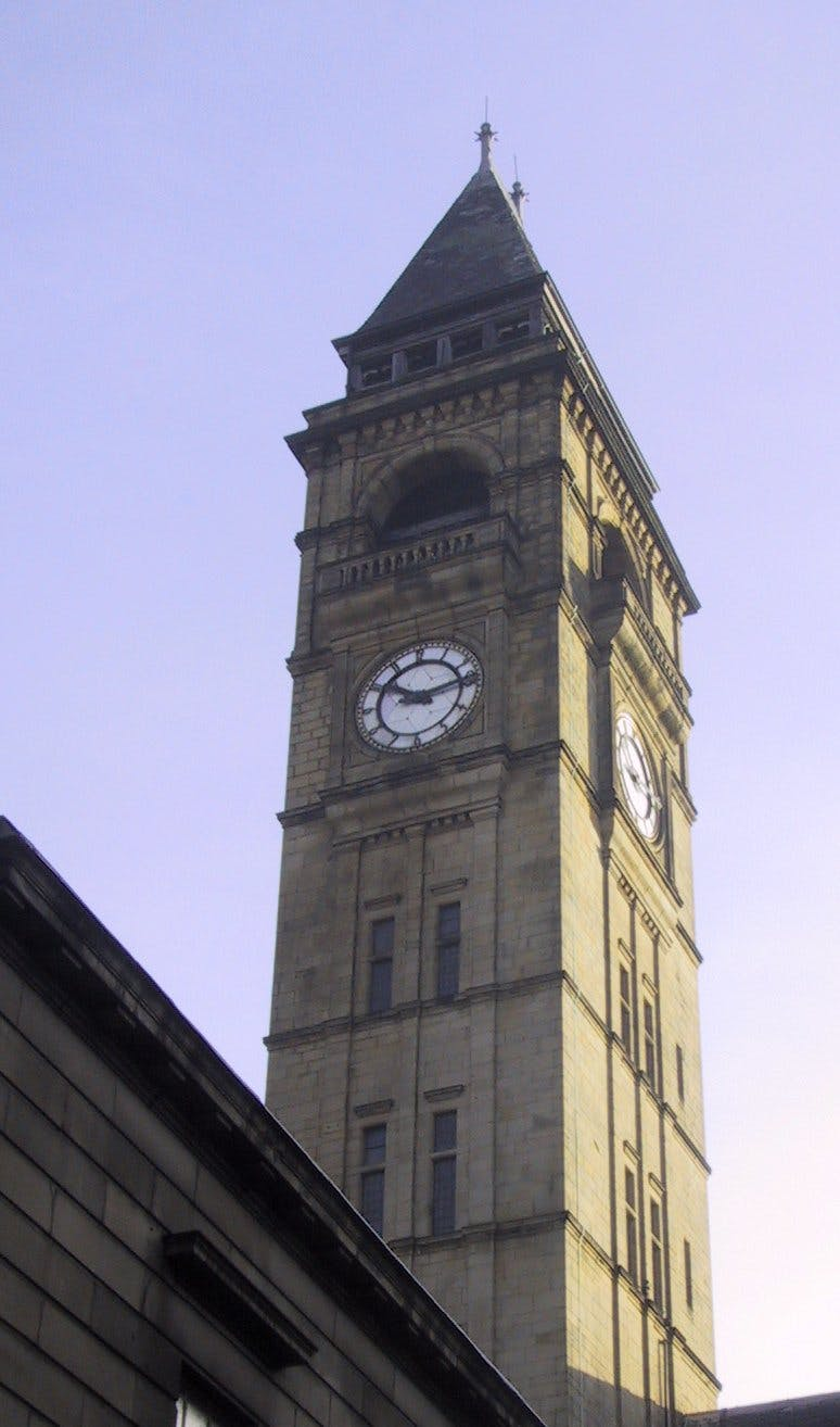 Wakefield Town Hall tower