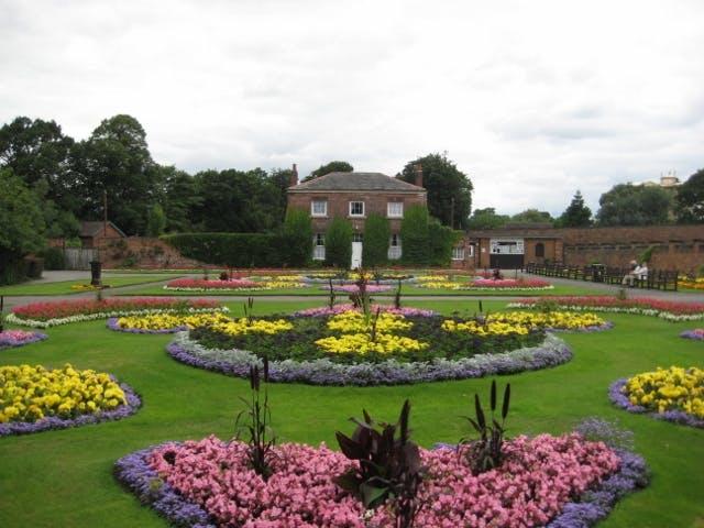 Thornes Park Flower Garden