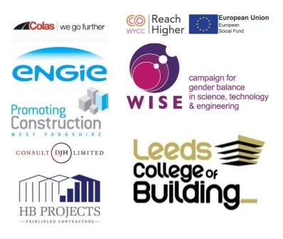 The key partners and employers that have worked in collaboration on the Reach Higher in Construction project