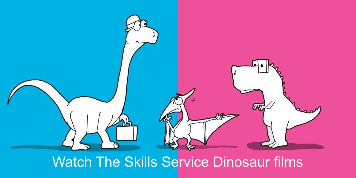 The Skills Service Dinosaurs
