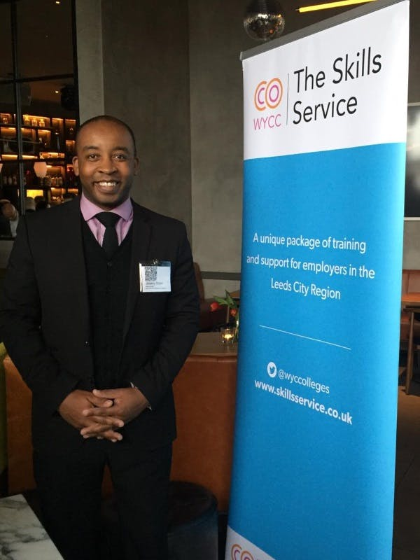 Skills Advisor Jeremy Boye at The Yorkshire Mafia Drinks Event 2019