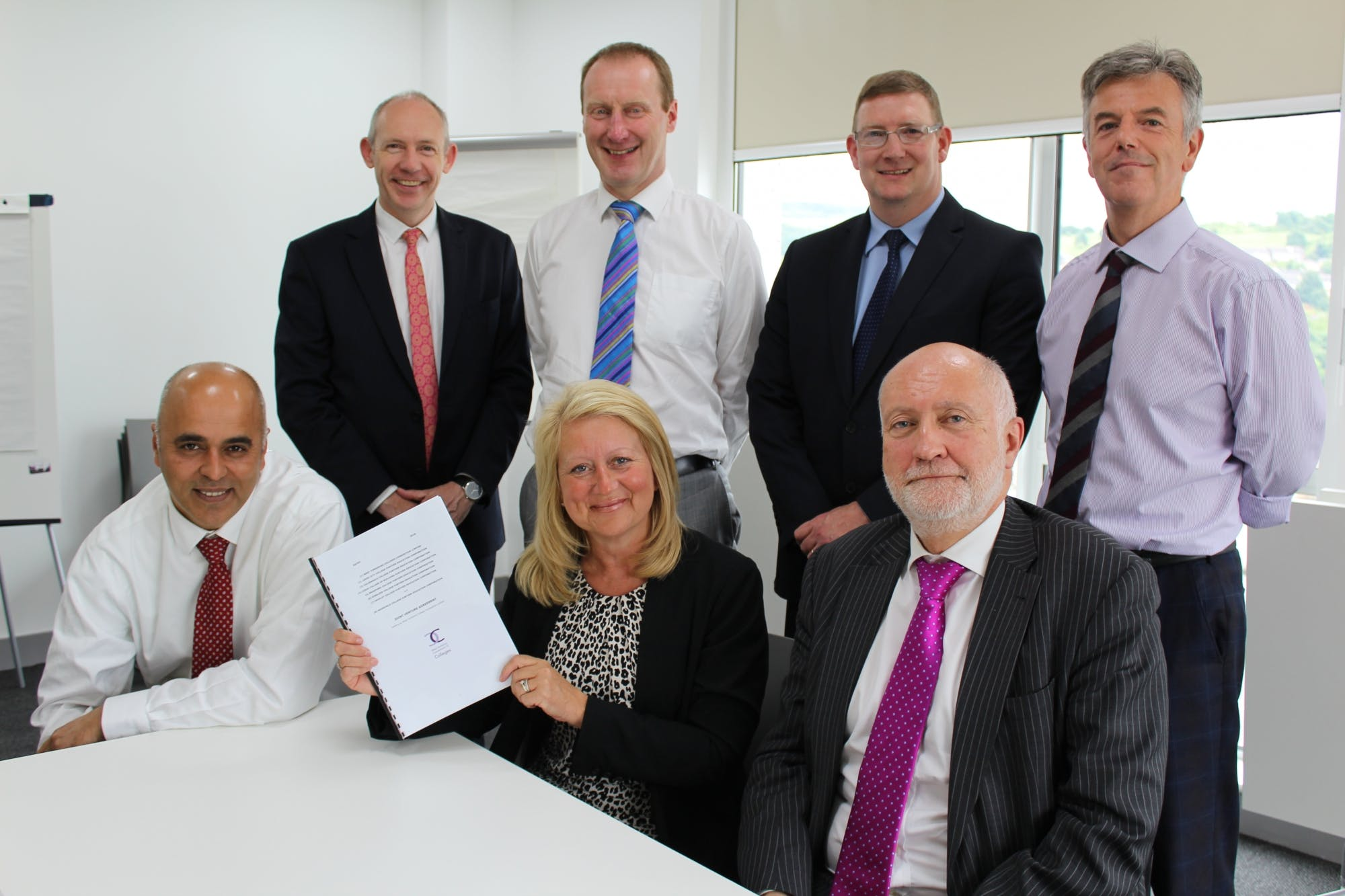News Joint Venture Agreement Unites West Yorkshire Colleges
