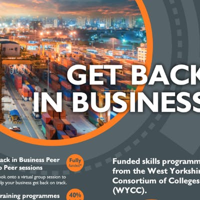 'You're not alone' - WYCC rolls out funded project to help SMEs to get 'Back in Business' together