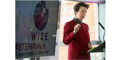 HRH The Princess Royal at WISE Celebration of Talented Women 2017 #STEMWales