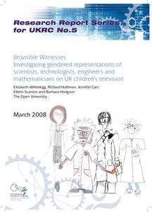 (In)visible witnesses: Investigating gendered representations of scientists, technologists, engineers and mathematicians on UK children's television