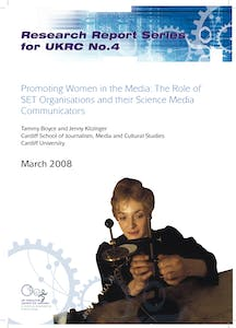 Promoting women in the media: The role of SET organisations and their science media communicators