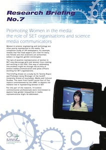 Promoting women in the media