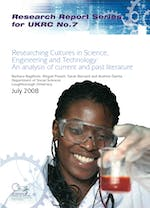 Researching cultures in science, engineering and technology: An analysis of current and past literature